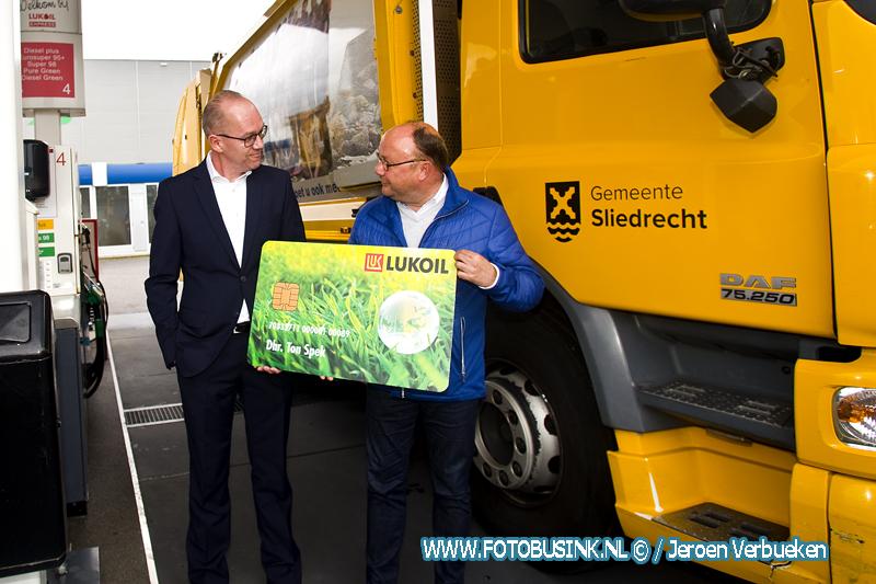 Officiële Opening HVO-tankstation aan de Marisstraat in Sliedrecht.