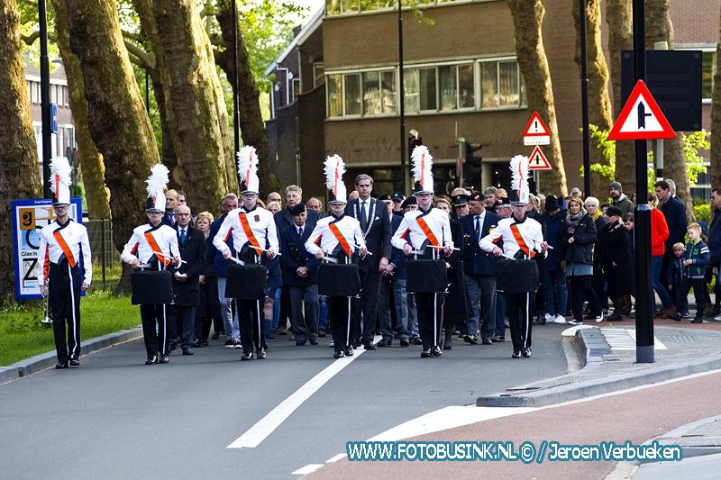 Dodenherdenking 2019 in Dordrecht.