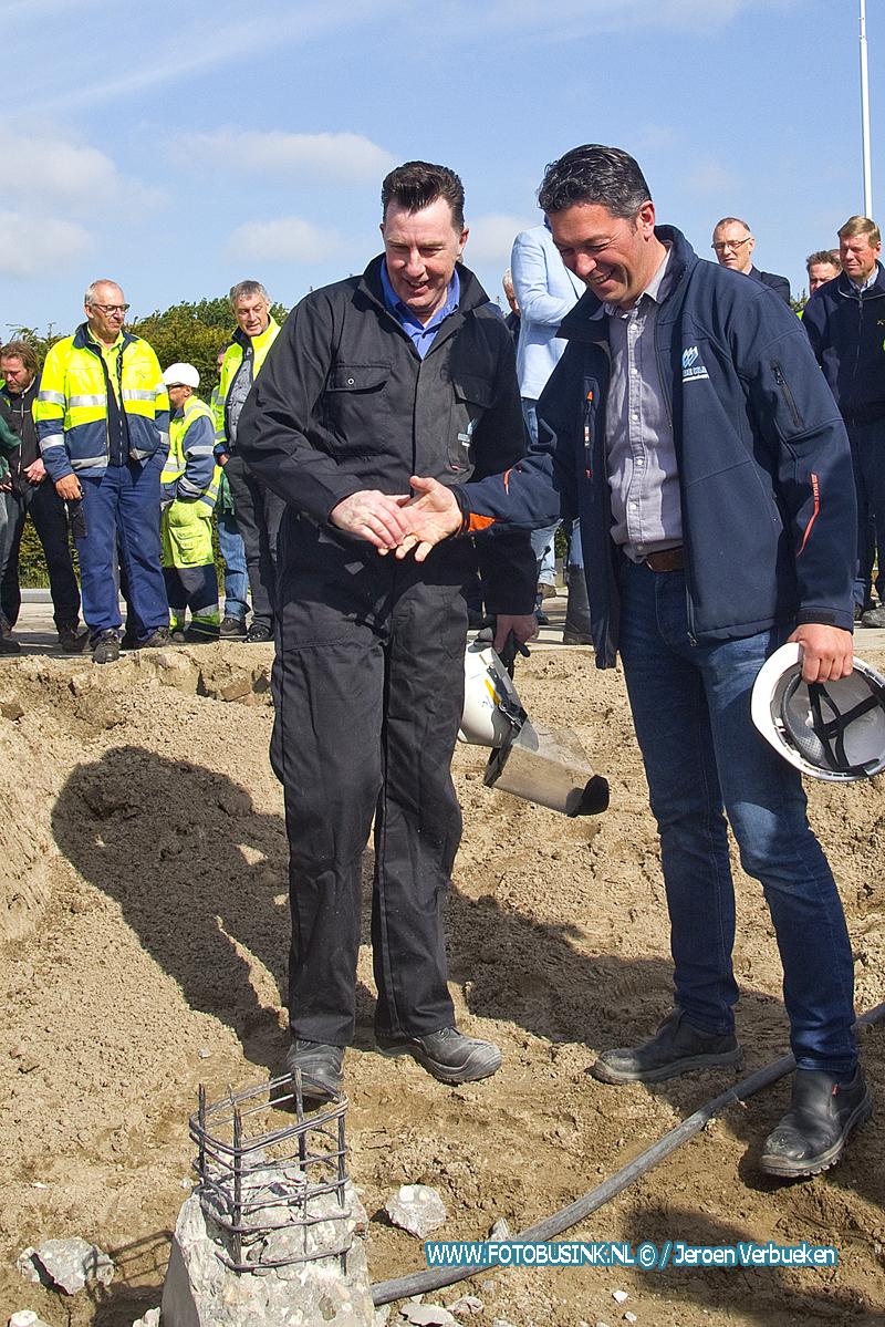 Officiële startsein gegeven voor de bouw van de nieuwe gemeentewerf in Papendrecht.
