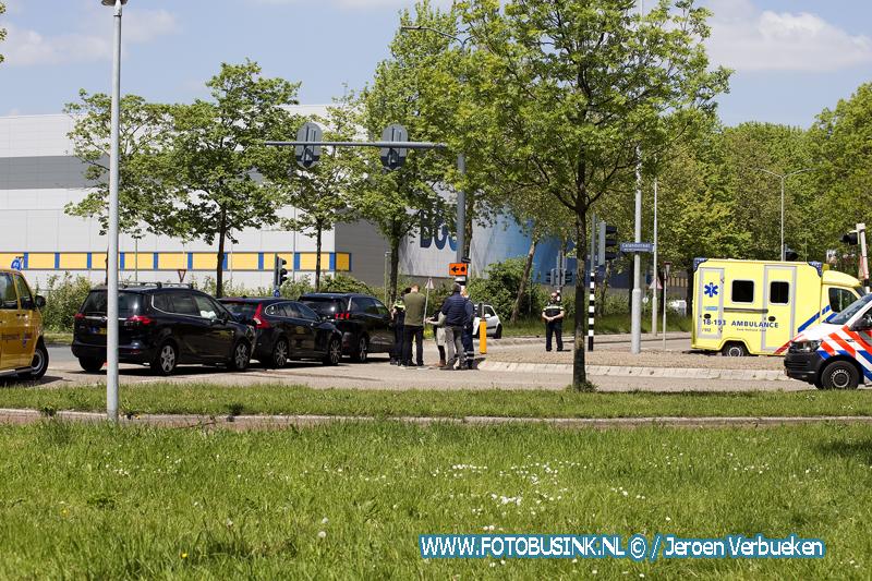 Aanrijding letsel Rijksstraatweg in Dordrecht.