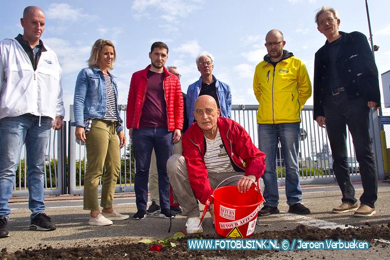 """Terugstortactie """"Retour Afzender"""" bij chemiebedrijf Chemours / DuPont in Dordrecht."""