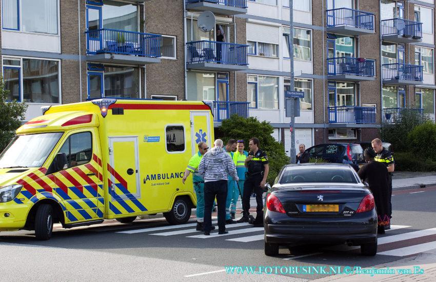 Vrouw aangereden op zebrapad aan de Thorbeckeweg in Dordrecht