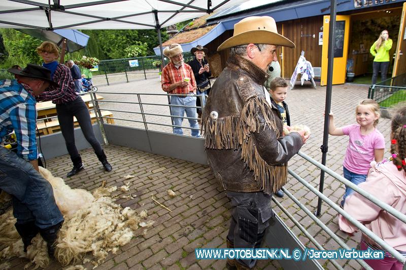 Schaapscheerdersfeest bij Weizigt.