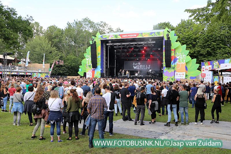 Live at Wantij ook dit jaar weer een groot succes.