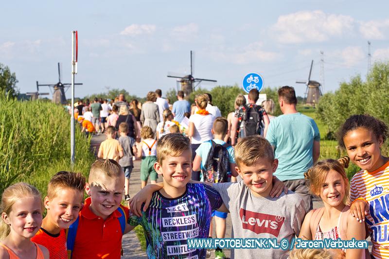 Avondvierdaagse in Alblasserdam begonnen.
