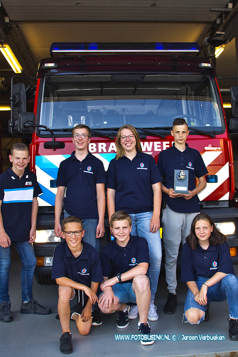 Jeugdbrandweer Sliedrecht naar de landelijke finale in Hardenberg.