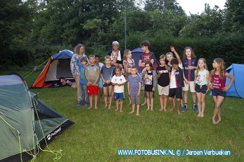 Camping Oosterkwartier in Dordrecht.