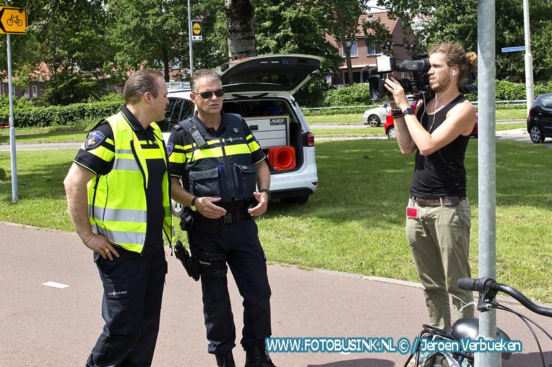Frans Bauer bij de politie