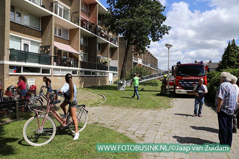 Balkonbrand in Zwijndrecht