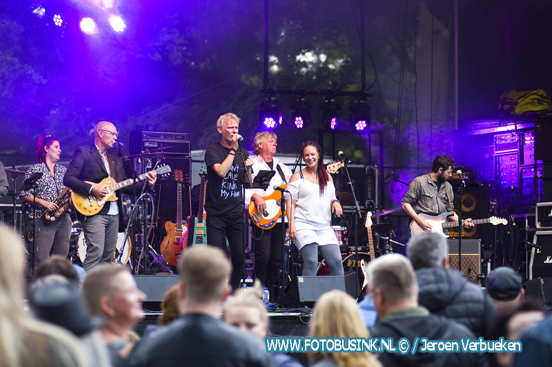 Dordtse OMG XXL starten Palm Parkies in het Wantijpark in Dordrecht.