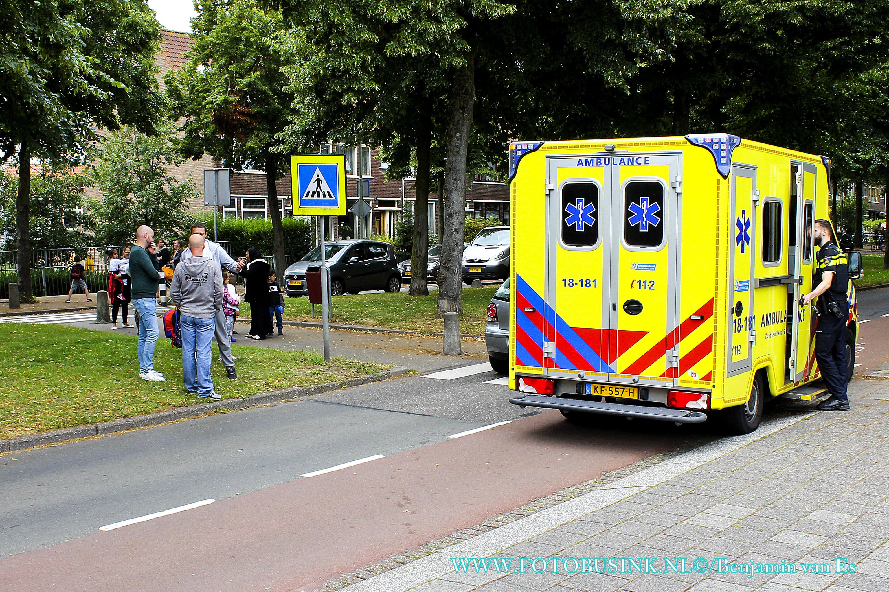 Voetganger aangereden op zebrapad aan de Brouwersdijk in Dordrecht.