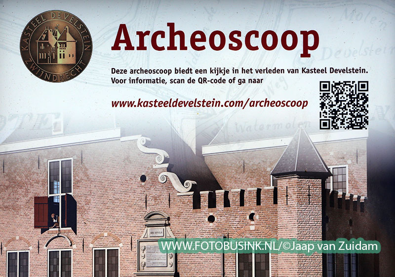 Opening Archeoscoop Kasteeleiland Develstein