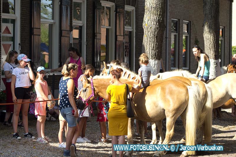 Paardenmarkt in Alblasserdam.