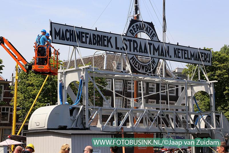 Schroevendok weer terug in Wolwevershaven