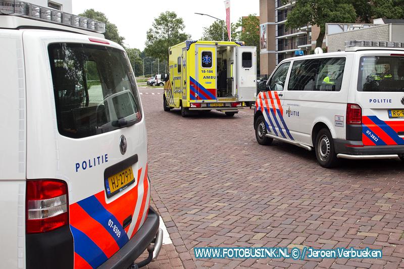 Meisje gevallen aan de Piersonstraat in Dordrecht.