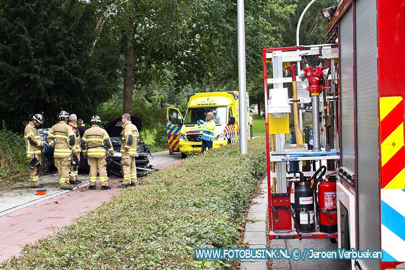 Eenzijdig ongeval met letsel in Zwijndrecht
