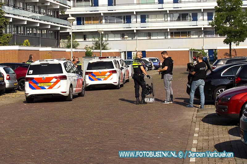 Steekincident aan de W.H.Vliegenstraat in Zwijndrecht.