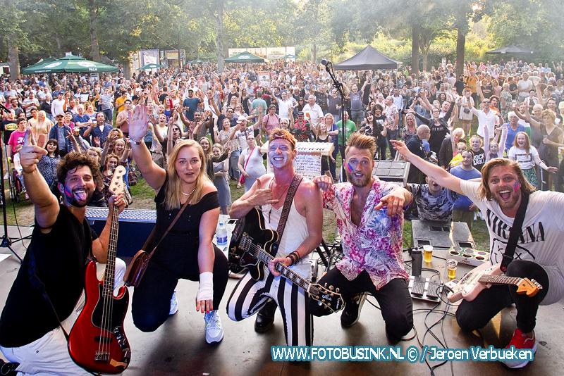 Palm Parkies weer een gezellig feestje in het WantijPark in Dordrecht.