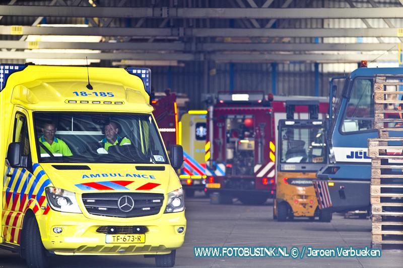 Bedrijfsongeval met dodelijke afloop in Gorinchem.
