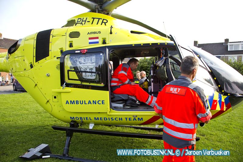 Frans Bauer vliegt mee met het Mobiel Medische Team.
