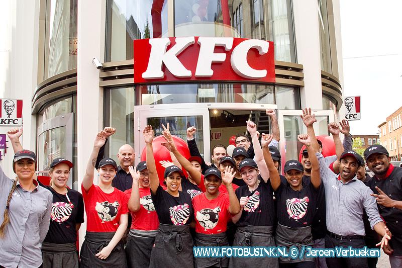 Dordrecht blij , KFC is vandaag geopend in de binnenstad van Dordrecht.
