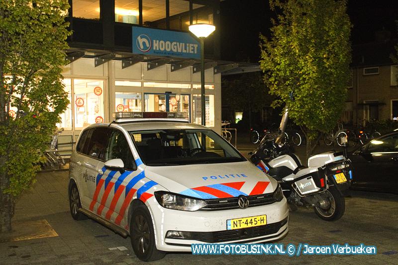 Overval op supermarkt Hoogvliet in Hardinxveld-Giessendam.