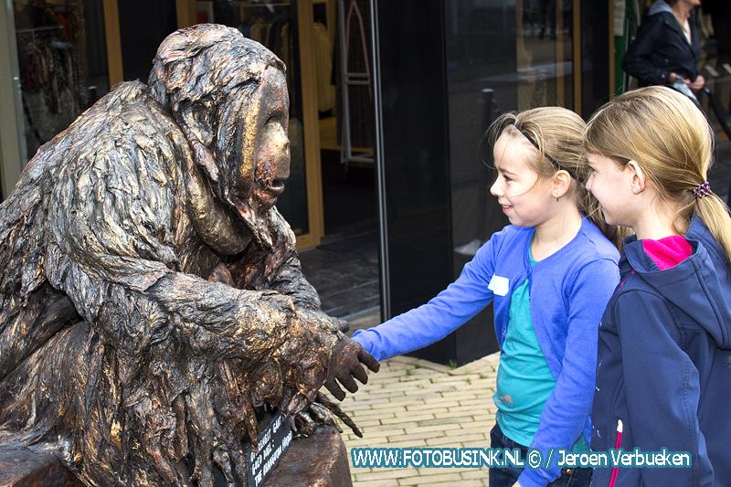Living Statues and Art Festival op de Kerkbuurt in Sliedrecht.