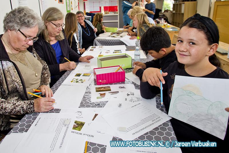 Jong en oud ontwerpen samen beweegroute De Staart.