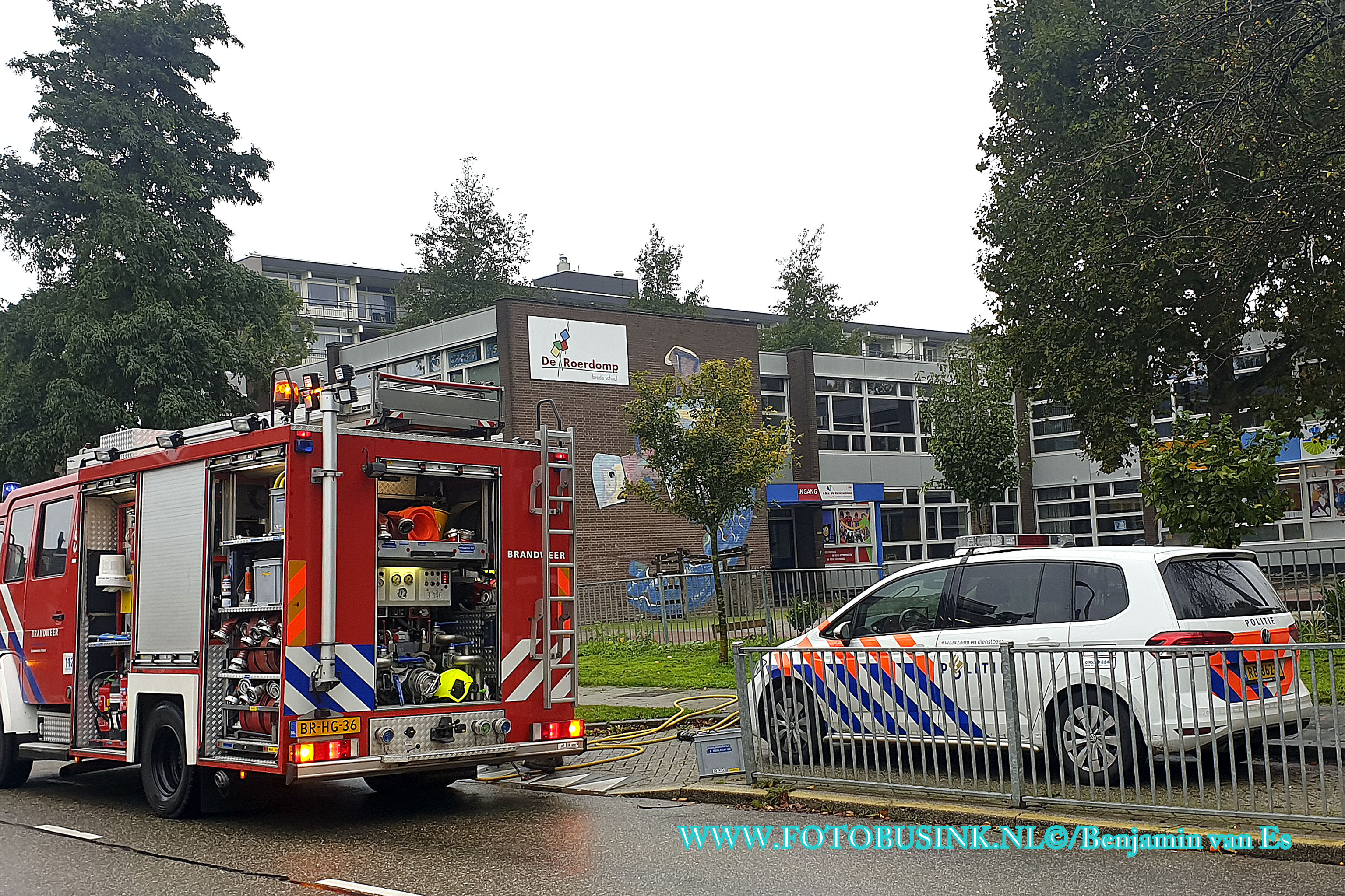 Brandweer Zwijndrecht opgeroepen voor pannetje op het vuur in Zwijndrecht.