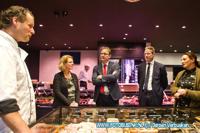 Europarlementariër Bert-Jan Ruissen bezoekt Alblasserdam in het kader van de landelijke Dag van de Ondernemer