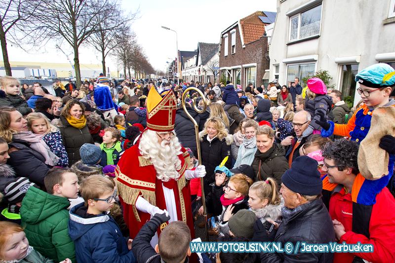 Sinterklaasintocht in Sliedrecht.