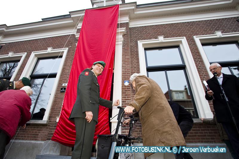 Opening herdenkingshuis Linie-Crossers in Sliedrecht.