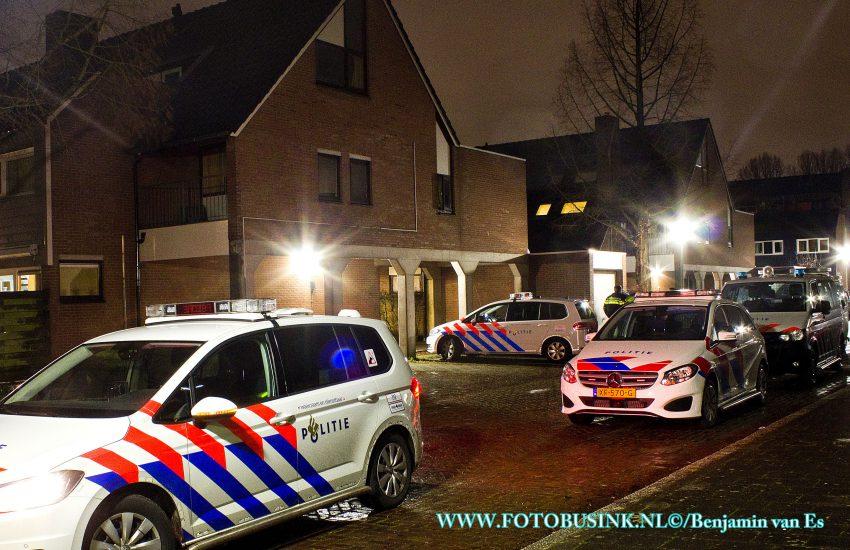 Woning aan de Jupiterlaan in Dordrecht overvallen.