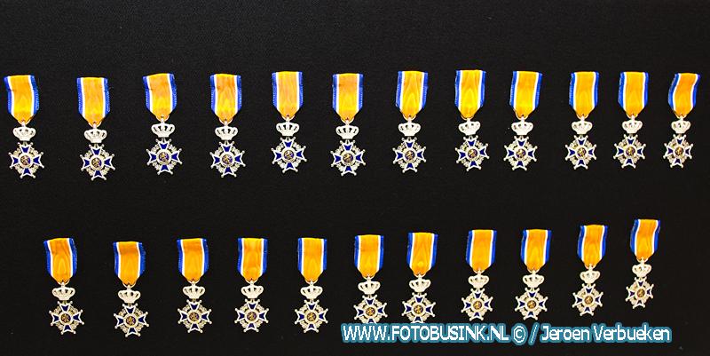 Koninklijke onderscheidingen voor 23 brandweerlieden uit de gemeente Molenlanden