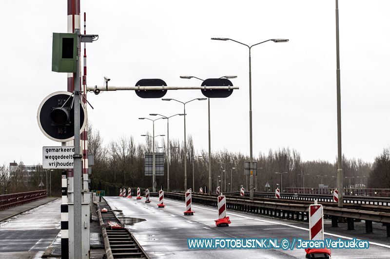 Afsluiting Wantijbrug N3 toch nog ergens goed voor.