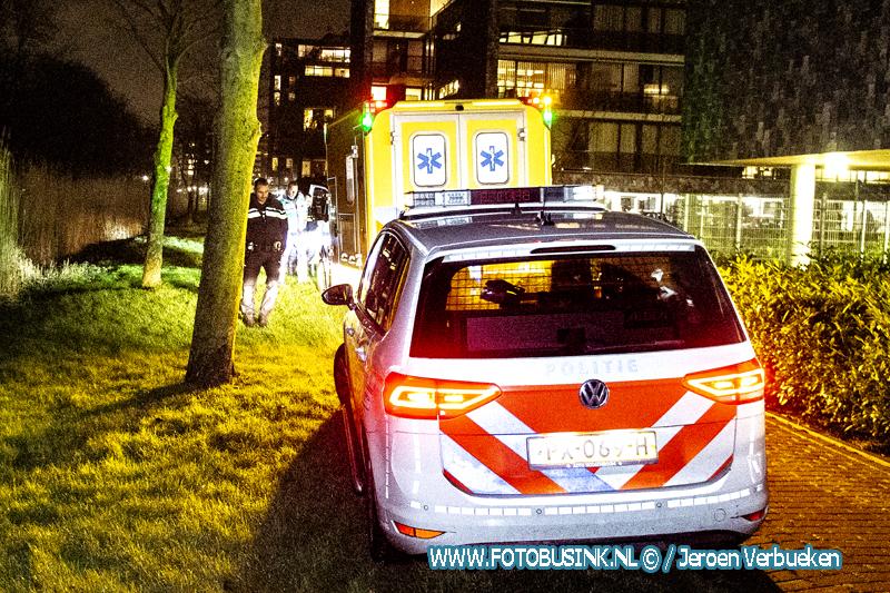 Man neergestoken aan de Uranusstraat in Zwijndrecht.