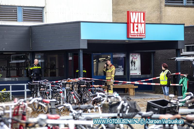 Twee mensen gewond in het Willem de Zwijger College in Papendrecht bij een incident met gootsteenontstopper.