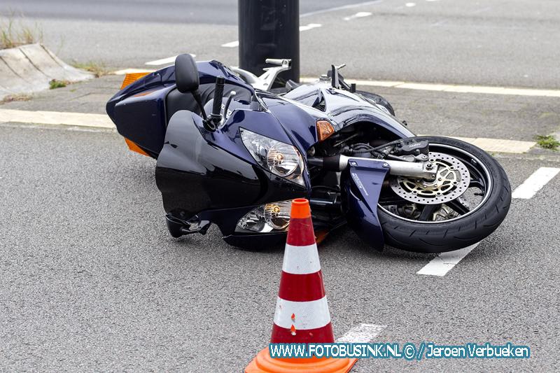 Motorrijder gewond na valpartij op de Laan der Verenigde Naties in Dordrecht.