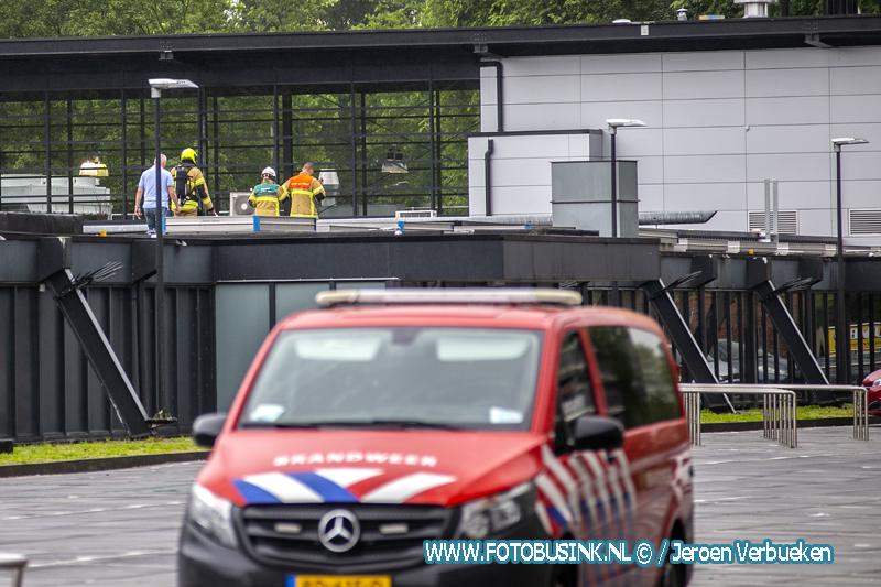 Winkelcentrum Sterrenburg in Dordrecht ontruimd.