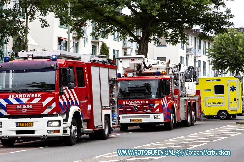 Brand in woning aan de Krispijnseweg in Dordrecht