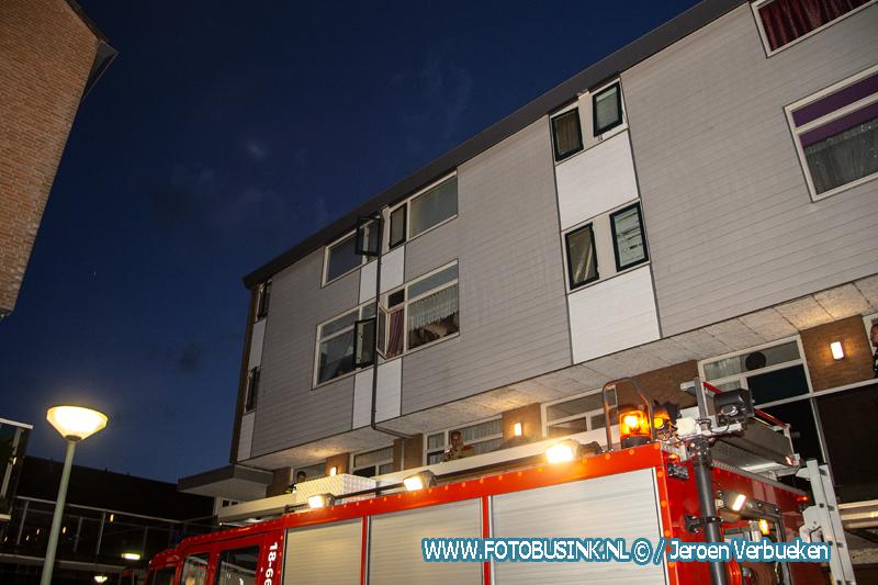 Keukenbrandje aan de Prattenburg in Dordrecht.