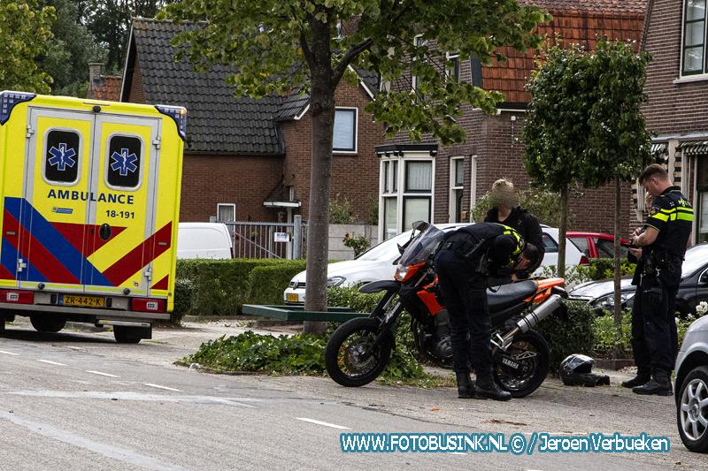 Aanrijding letsel Stevensweg Dordrecht.