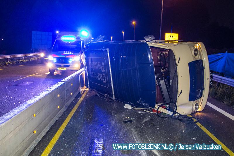 Ernstig ongeval N3 Dordrecht. VIDEO