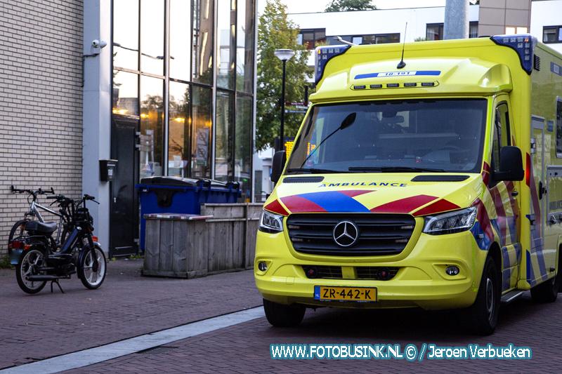 Aanrijding letsel Achterom Dordrecht.