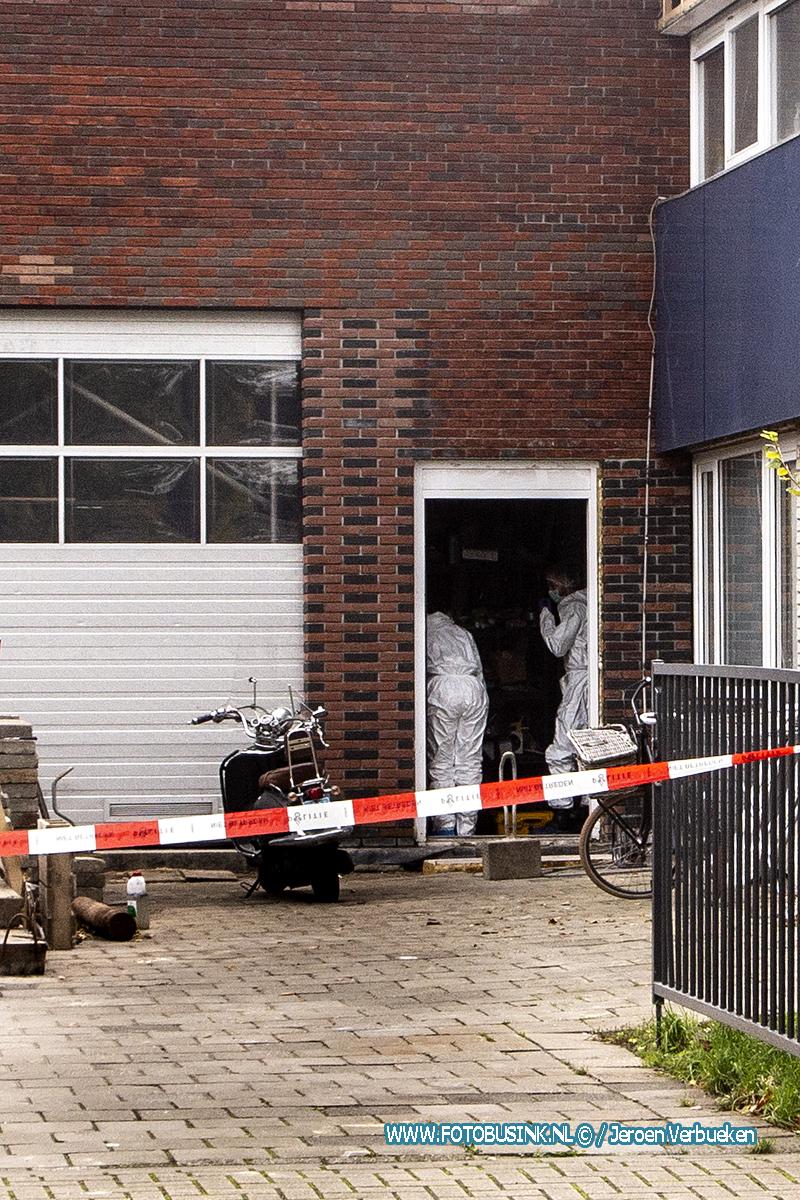 Dode vrouw aangetroffen in een bedrijfspand in Zwijndrecht.