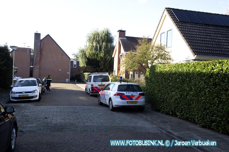Woningoverval in de wijk Sterrenburg.
