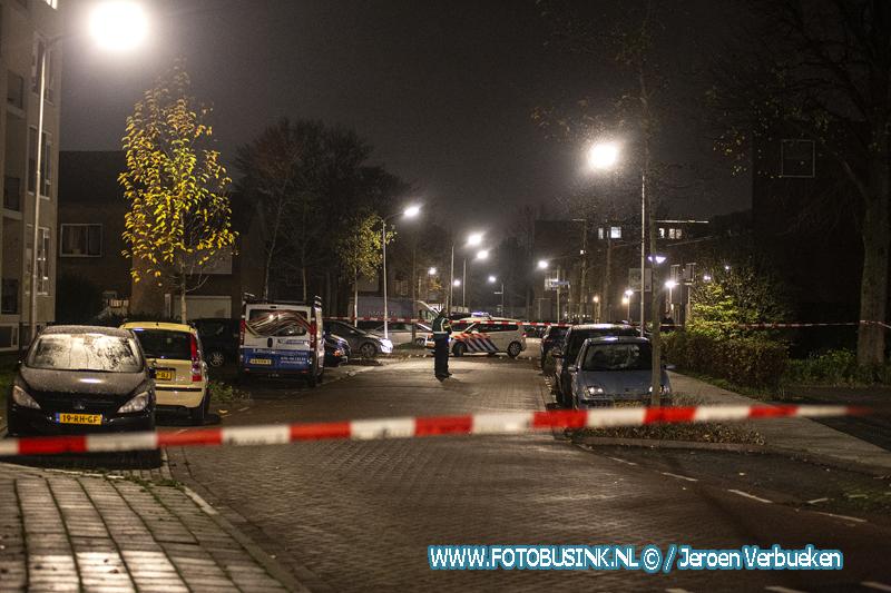 Man beschoten aan de Maasstraat In Alblasserdam.