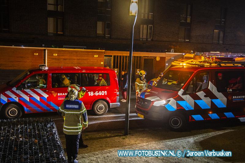 Grote brand in appartementencomplex De Heerlijkheid in Hendrik Ido-Ambacht.