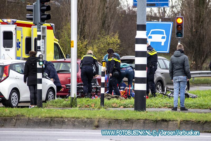 Aanrijding letsel Overkampweg Dordrecht.