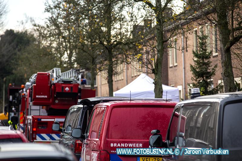 Bewoonster overleden bij woningbrand aan de Prinses Margrietstraat in Gorinchem.
